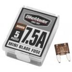 5PC/BX 7.5A MINI BLADE FUSE BR