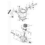 Cylinder   Piston   Crankshaft