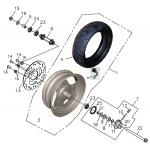 Front Wheel - Aluminum Rim