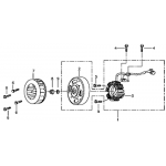 Stator and Flywheel
