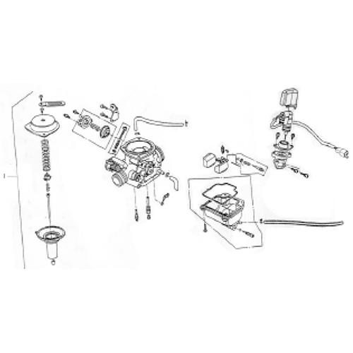 Carburetor (Silver Fox (4 Stroke))