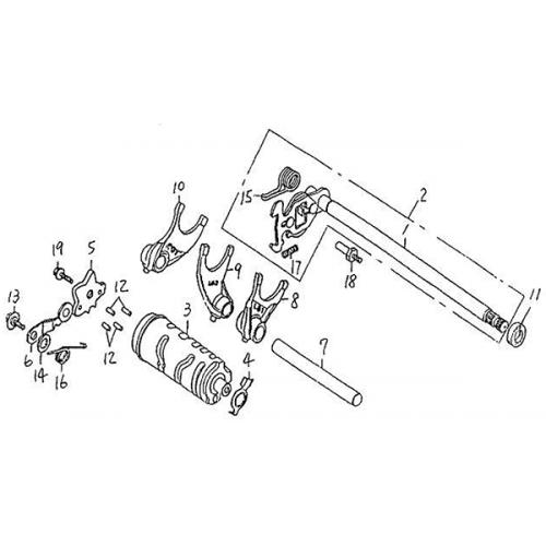 Gear Shift (Barossa Silverhawk 250)