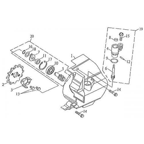 Gear | Speedometer (Barossa Silverhawk 250)