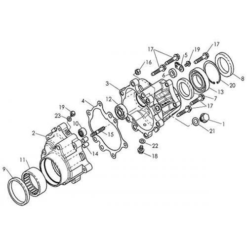 Gear Case (Barossa Silverhawk 250)