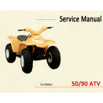 Adly (Blazer) 50/90 ATV Service Manual