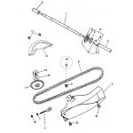 Rear Wheel Axle   Chain