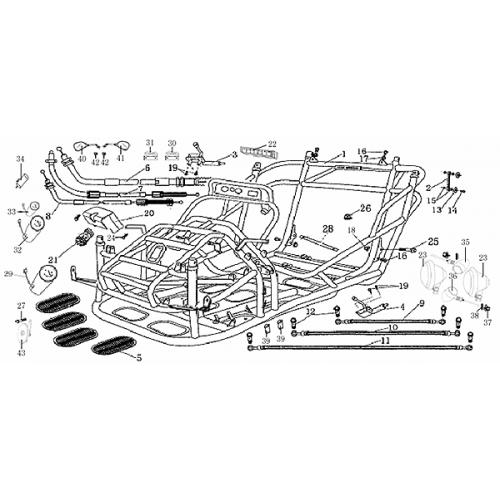 Frame Composition (Dazon Buggy 175)