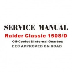 Raider Classic 150 Service Manual